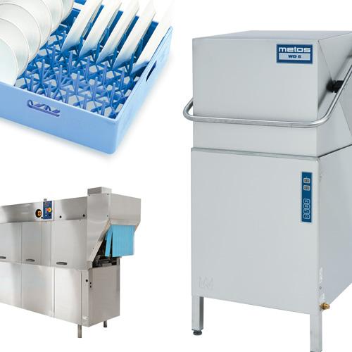 Profesionālās trauku mazgāšanas iekārtas un piederumi