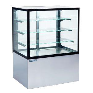 Konditorejas stikla vitrīnas